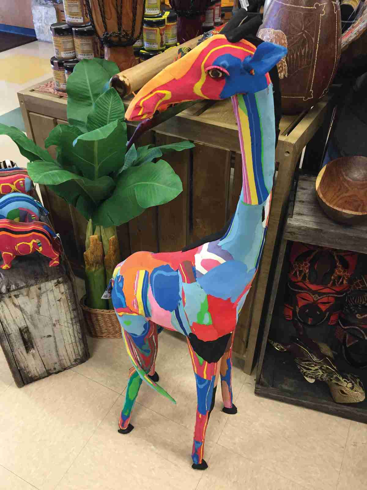 The Abilene Zoo is gearing up for the launch of a Giraffe Safari exhibit in 2016 and giraffe merchandise will be part of the gift store's inventory.