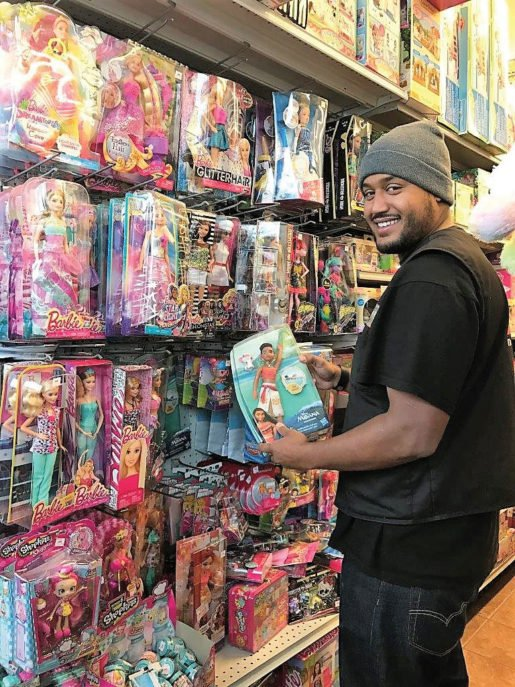 Neil Weaver, sales associate, Standard 5 & 10 Ace, in the toy section. Customer service is key to selling toys in a hardware store, according to the owner of this San Francisco, Calif., store.