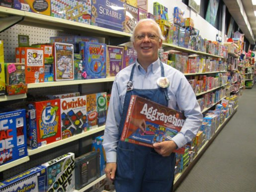 Dave Campbell, owner, Amazing Toys in Great Falls,  Mont., offers everything from novice-level puzzles to an 18,000-piece challenge.