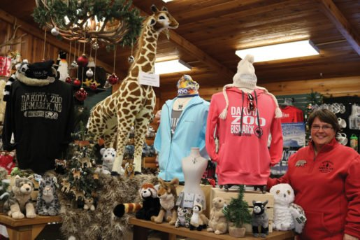 Anita Morris, gift shop/office manager, Dakota Zoo in Bismarck, N.D. Morris recommends displaying apparel and accessories together to increase sales.