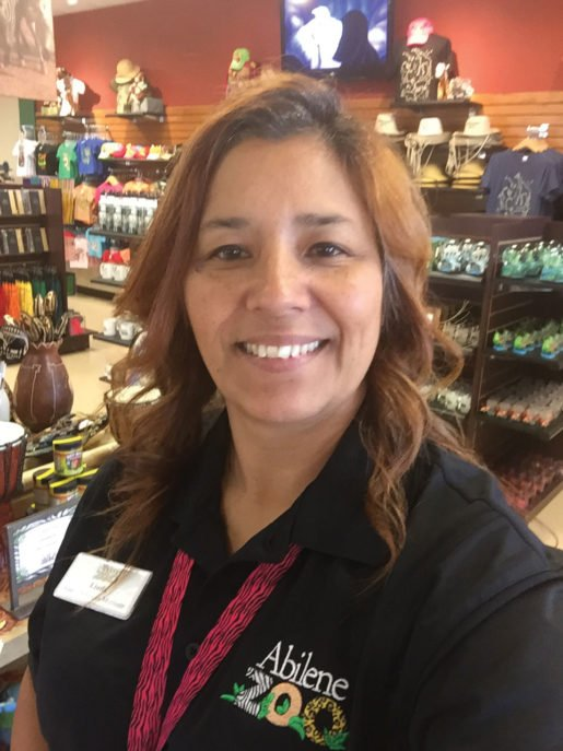 Linda Camacho, manager for the Abilene Zoo's gift shop, said she expects giraffe plush, shirts, globes and frames will sell well due to a new giraffe exhibit.
