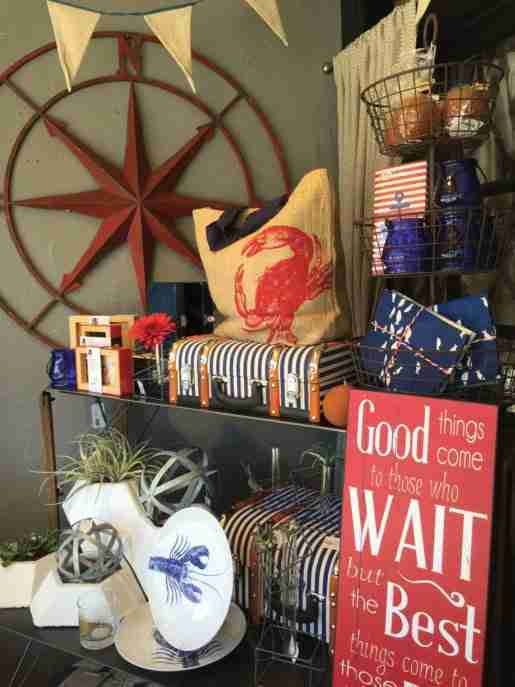 A merchandise display at Simplicity Décor in Kirkland, Wash. Selling more gifts starts with stocking the right items, the owner said.