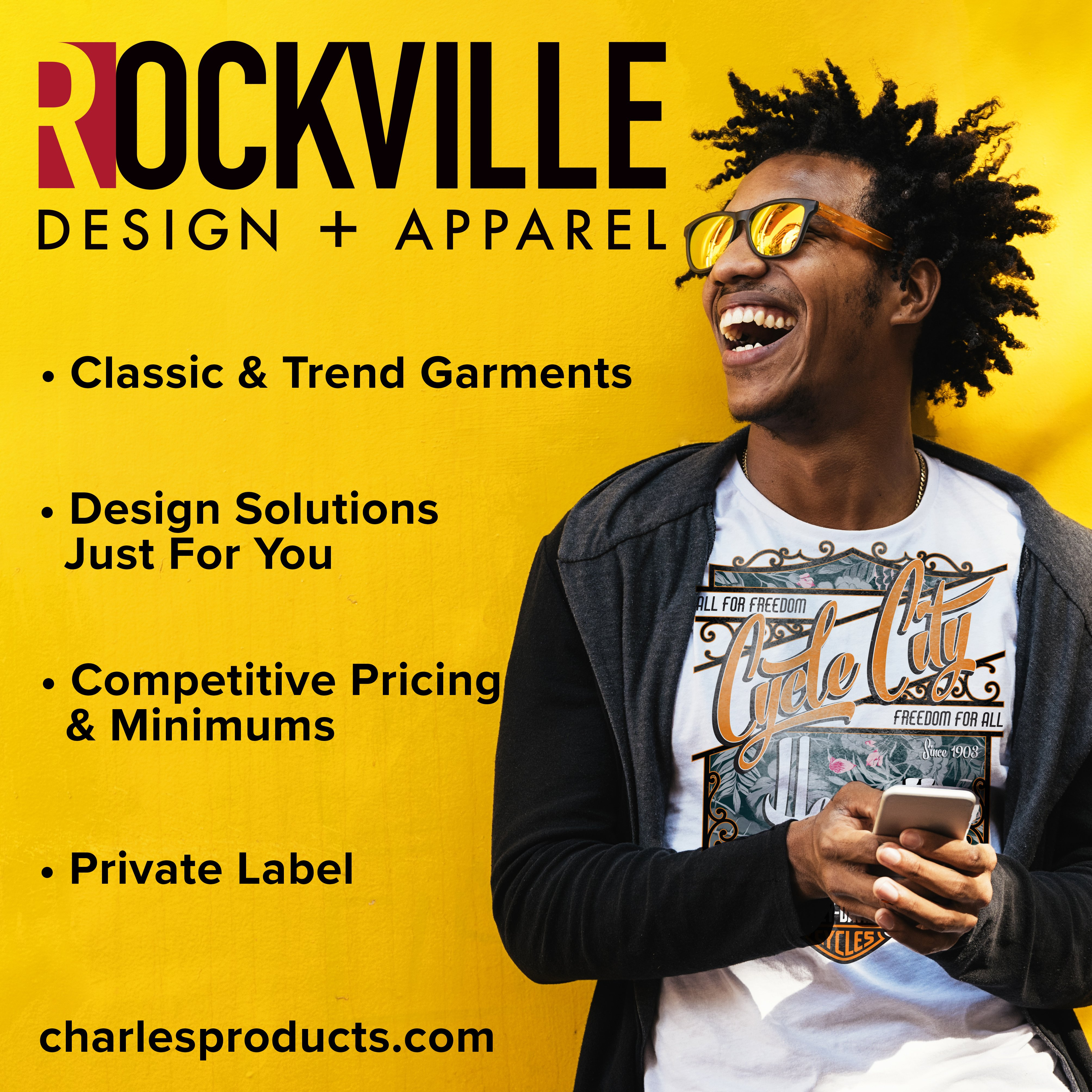 ROCKVILLE Design & Apparel Is Introduced