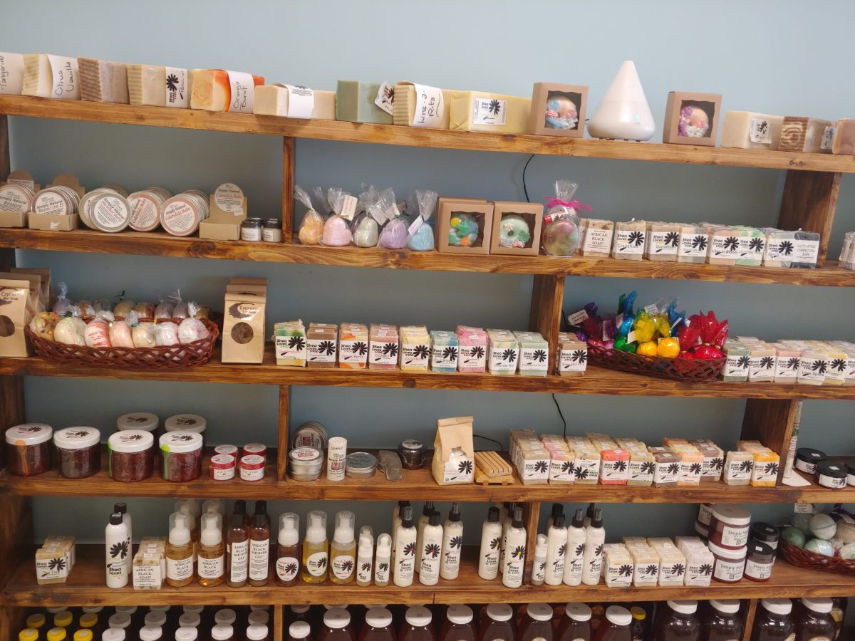 Sales with Soaps and Lotions Selling