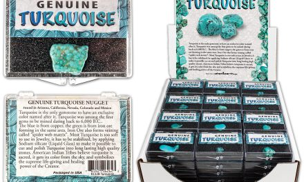 Genuine Turquoise Educational Boxes Are Available from Silver Streak