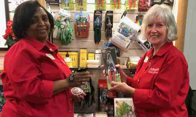 Growing Gift Sales  at Botanical  Garden Shops
