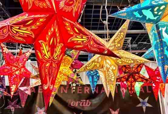 Handmade Stars from India Are Available from Lorab International