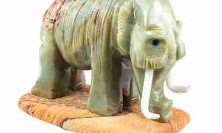 Large, Hand-Carved Soapstone Animals