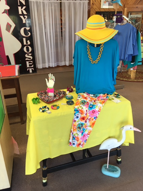 Resort and Beach Apparel at Boutiques