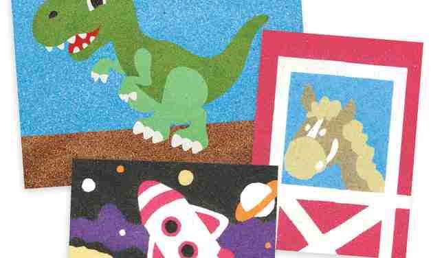 Sandtastik® Offers Peel 'N Stick  Sand Art Boards